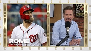 Bryce Harper Signs With Phillies, 13-Year $330M | The Jim Rome Show