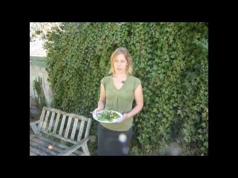 Summer Salad Recipes: Pear, Arugula, Maple, Pepita, Lemon Dressing