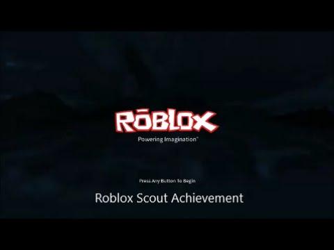 Roblox - Scout Achievement
