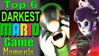 Top 6 Darkest Mario Game Moments