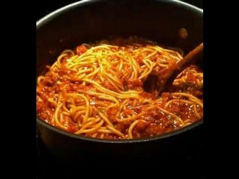 how to make vegan cheezy spaghetti