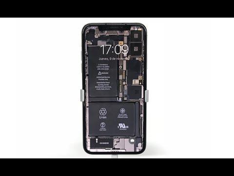 DIY iPhone X see-through screen!