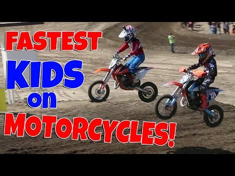FASTEST KIDS ON MOTORCYCLES! (MX 65CC)!