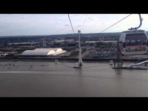 Emirates Air Line - Royal Victoria to North Greenwich