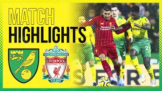 HIGHLIGHTS | Norwich City 0-1 Liverpool