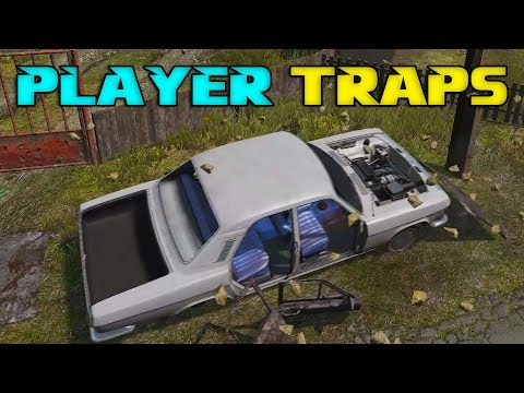 How Player Traps Work in DayZ 0.60