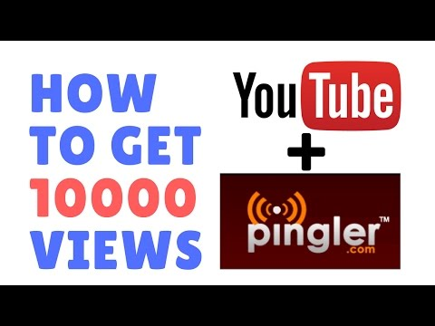 How to get 1000 views on YouTube | Using Pingler.com & SEO | Easy Trick