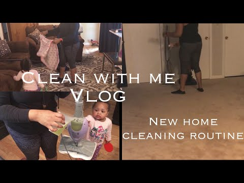 New Home Cleaning Routine | Clean With Me Vlog Edition