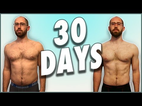 How I lost 8% Body Fat in 30 Days - HIGH INTENSITY WORKOUT