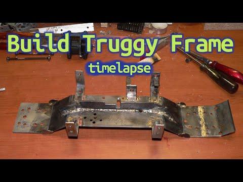 How to DIY Build Truggy Frame - timelapse - RC Car step3