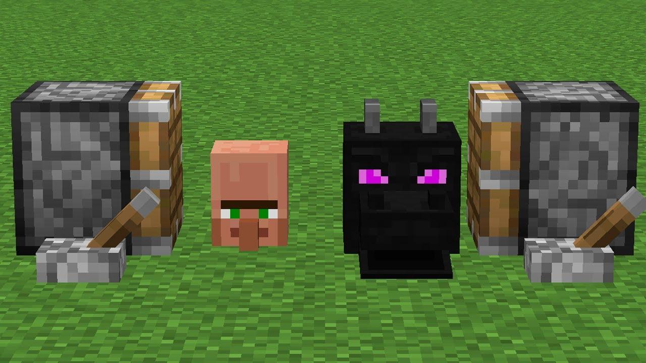 villager head + dragon head = ????
