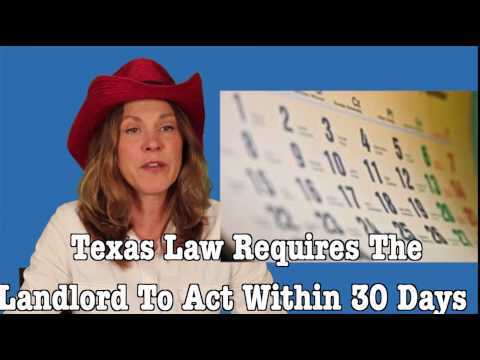 Cowgirl Attorney: Texas Tenant Rights: How Do I Get Back My Security Deposit