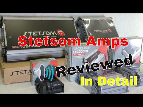 Stetsom Amplifier Review   Export, High Line & Iron Line Series