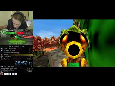 Why didn't this land on the flower?! (Majora's Mask Speedrunning)
