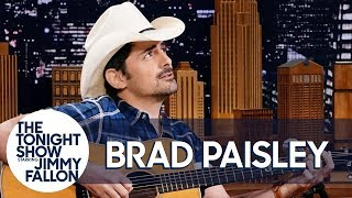 """Brad Paisley Debuts Unreleased Love Song """"First Cousins"""""""