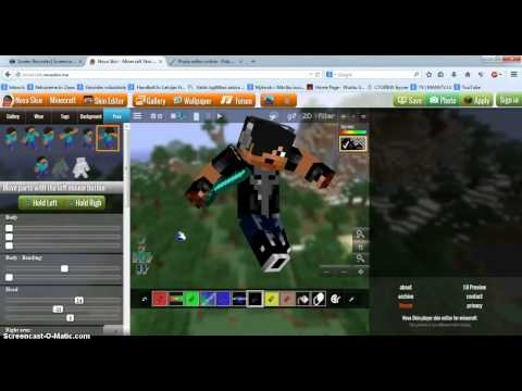 How to make youtube minecraft icon