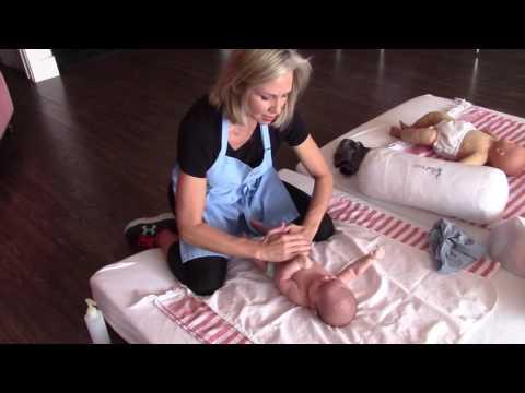 Float Baby Tummy Massage