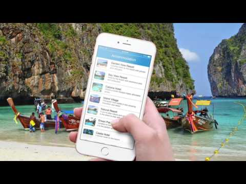 Phi Phi App promo video