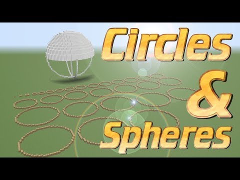Minecraft: How to make a circle in Minecraft | How to make a Ball in Minecraft | Minecraft Tutorial