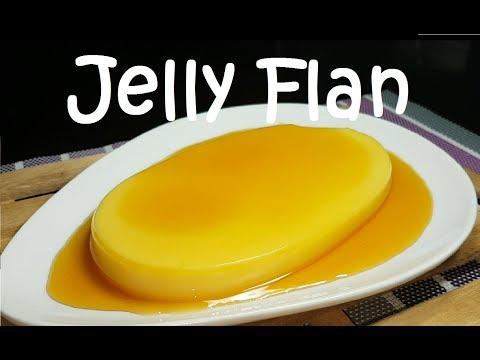 Jelly Flan | Gulaman Flan | Lechetin | Custard Flan | Jelly Custard