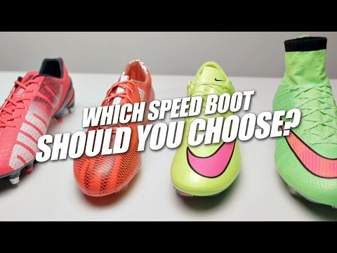 Which speed boot should you choose?