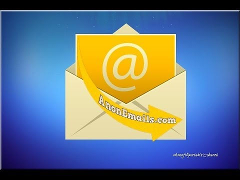 AnonEmails, (send anonymous email),invia mail anonime