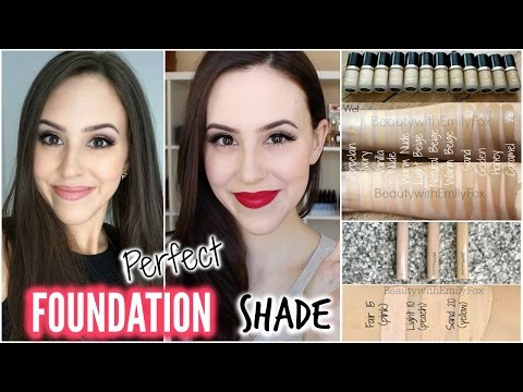 How To Choose The Right Foundation Shade || Perfect Foundation Color for Beginners