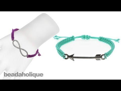 Instructions for Making the Link Macrame Bracelet Kits