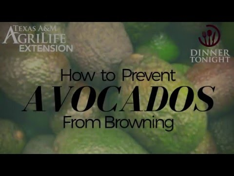 Prevent Avocado From Browning
