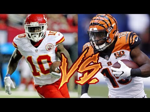 JOHN ROSS VS TYREEK HILL WHO CAN GET A PUNT RETURN TD FIRST? !? WHO'S FASTER?!?