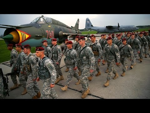 US troops arrive in Poland, Latvia for drills amid rising tensions over Ukraine