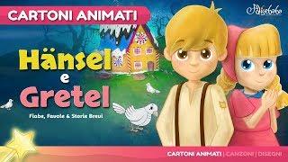 Hänsel e Gretel storie per bambini | cartoni animati Italiano | Storie della buonanotte