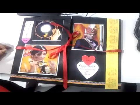 Romantic ScrapBook Idea: Perfect Valentine gift for Boyfriend / Girlfriend