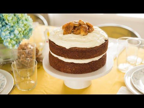 Brown Butter Banana Cake