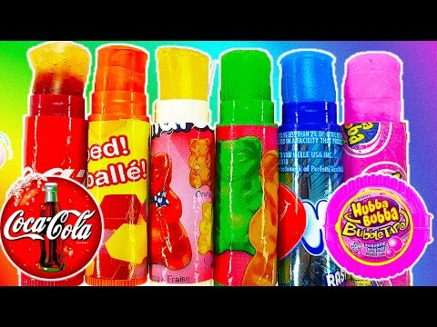 DIY: Lip Balm PRANK! EDIBLE CANDY Treat Using Lip Balm Tubes!! Coke Bottles, Starbursts, and More!