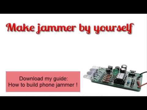How to build cell phone jammer - home made