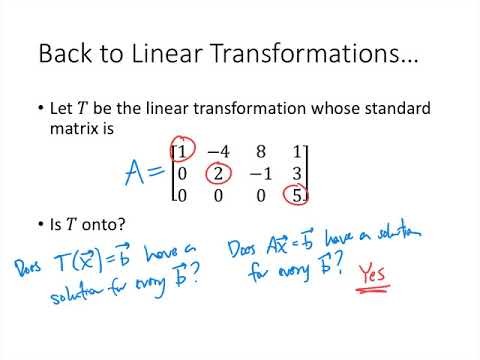 Linear Algebra - Lecture 20 - Existence and Uniqueness Questions