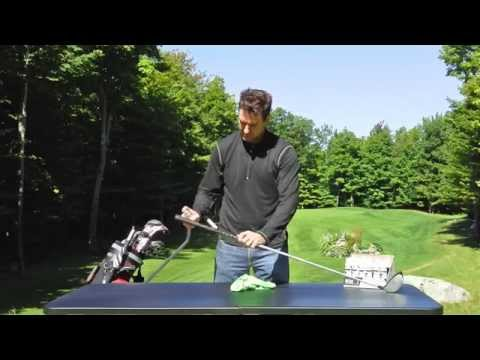 How to clean your golf clubs...... By Stixx Golf