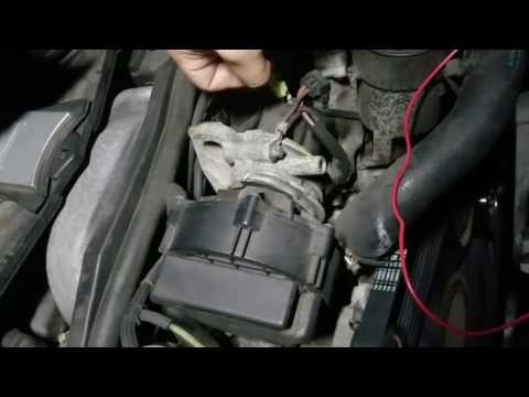 How to check Secondary Air Pump failure Mercedes Benz