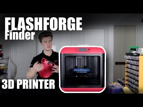 FlashForge Finder 3D Printer Review - The easiest value 3d printer?