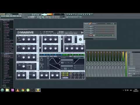 How to make basic hardstyle lead in massive (FL studio 11)