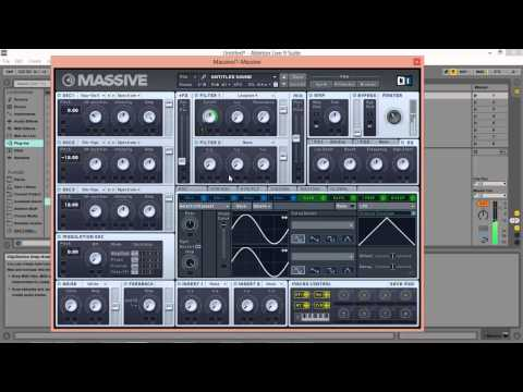 How to Make A Dubstep Wobble Bass With Massive