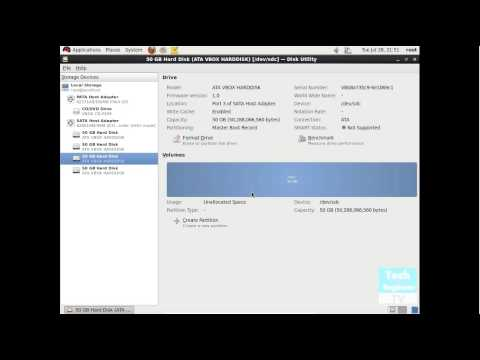 Create, Delete, Mount Partition via GUI in RHEL (Red Hat Enterprise Linux) OS