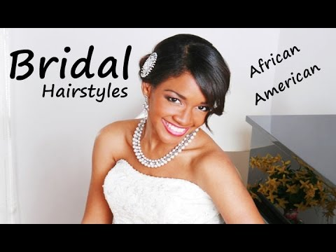 African American Beautiful Bridal Hairstyles & Haircuts!!