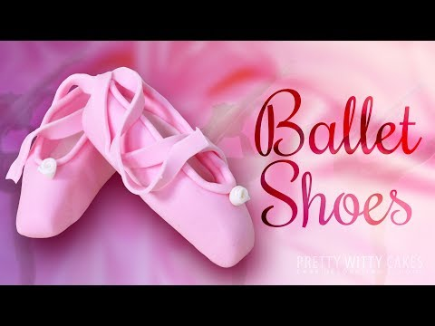 How to Model Tiny Ballet Shoes - Pretty Witty Cakes
