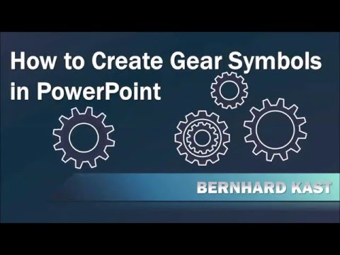 How to Create and Animate Gear Symbols in PowerPoint