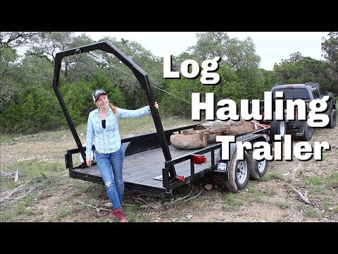 Building A Log Hauling Trailer