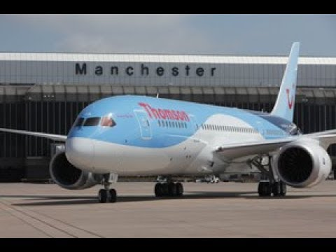 Thomson Dreamliner Boeing 787 Angel of the sky from Manchester to Orlando Sanford