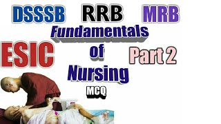 ESIC - Staff Nurse Exam and Safdarjung Nursing Officer 50