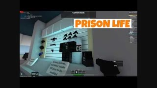 Prison Life Roblox gameplay